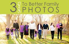 3 secrets to better family photos