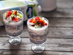 Chia Puding, Panna Cotta, Smooth, Cooking, Ethnic Recipes, Desserts, Food, Kitchen, Tailgate Desserts