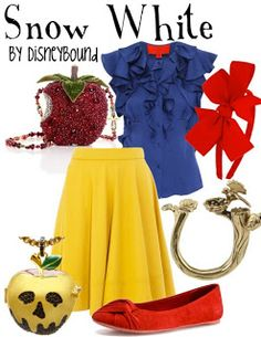 Wordless Wednesday: Disney Inspired Fashion