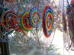 5th gr  - use wire in center, too - The weaving projects week 3 | Flickr - Photo Sharing!
