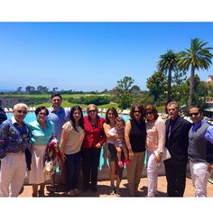 Enjoying the Thanksgiving day lunch with my relatives and friends at the Coliseum Pool & Grill at Pelican Hill Resort, Newport beach, CA