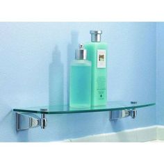 Ginger 1834-24TSCL Quattro 24 inch Replacement Glass Shelf, Clear