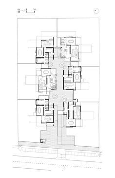 Imagen 20 de 25 de la galería de Condominio San Damián / Chauriye Stäger Arquitectos. Planta