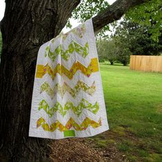 Baby Quilt Baby Bedding Zig Zag by TwiggyandOpal on Etsy, $70.00