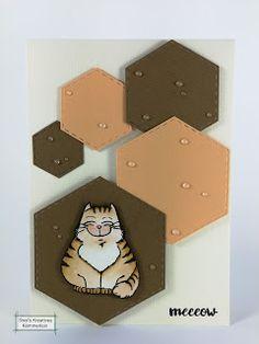 Sissi's kreatives Kämmerlein: Katzenkarte, noch mal...