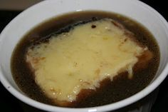 A Year of Slow Cooking: French Onion Soup CrockPot Recipe