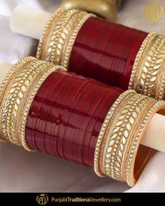 Vintage Trio of Grannie Chic Necklaces, Jewelry, Accessories - Custom Jewelry Ideas Indian Bridal Jewelry Sets, Bridal Bangles, Wedding Jewelry Sets, Bridal Accessories, Bridal Jewellery, Diamond Jewellery, Garra, Punjabi Traditional Jewellery, Bridal Chuda