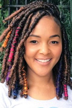 Pics Of Women Who Know How To Show Off Dreadlocks And Be Beautiful ★ See more: http://lovehairstyles.com/dreadlocks-hairstyles/
