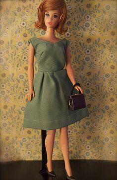 Mod Era Barbie - Hair Fair Barbie