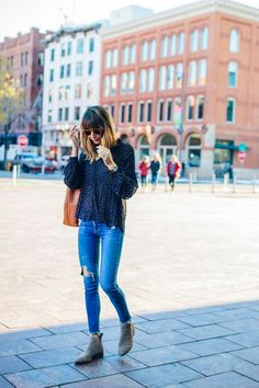 Chicago fashion blogger Blair Staky of The Fox & She in Denver