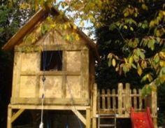 Stelzenhaus Garten,Holzbearbeitung,Kinder,Spielhaus,Stelzenhaus