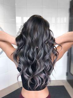 68 Ideas Hair Balayage Grey Silver For 2019 Hair Color Ideas grey hair color ideas Grey Balayage, Hair Color Balayage, Hair Highlights, White Highlights, Haircolor, Balayage Bob, Ombre Hair Color, Cool Hair Color, Gray Ombre