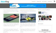 Dazzling Premium Responsive Blogger Teması (TÜRKÇE)