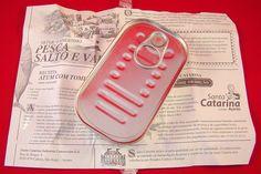 "Santa Catarina - Tuna Fillet in ""Molho Cru"" (mediterranean sauce) Package Detail"