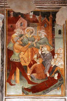 XIV secolo - L'oratorio di S. Stefano a Lentate sul Seveso
