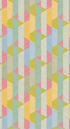 Wallpaper pattern from Imogen Heath