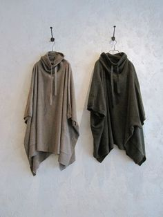 Love these high neck knit poncho, $178, from www.toolz.au