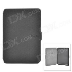 Ultrathin Protective PU Leather Case w/ Auto Sleep for Kindle Paperwhite - Black Price: $9.76