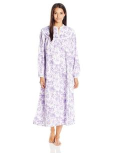 e71128b8b5 Sleepwear and Robes 63855  Lanz Women S Cotton Flannel Nightgown -  BUY IT  NOW