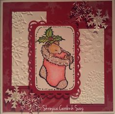 Holiday Mouse - Christmas Mouse from Penny Black - Jolly Friends