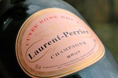 Laurent-Perrier Champagne pink! via calder clark designs blog