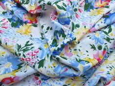 Fabric Godmother - Aimee 100% Floral Cotton - Multi, £10.00 (http://www.fabricgodmother.co.uk/aimee-100-floral-cotton-multi/)