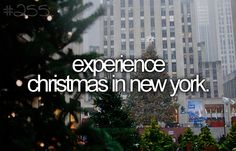 bucket list lista Christmas in New YorkExperience Christmas in New York Bucket List Life, Life List, Bucket List For Girls, Bucket List Quotes, What's Life, Rockefeller Center, New York Noel, New York Weihnachten, Bucket List Before I Die