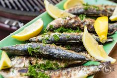 Portugese Sardines van de grill - By Smokey Goodness BBQ Catering