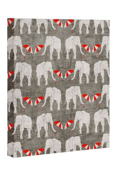 Elephant and Umbrella Canvas Wall Art | Nordstrom Rack Sponsored by Nordstrom Rack.