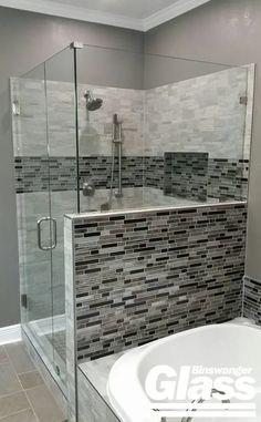 Frameless Showers | Binswanger Glass Frameless Shower Enclosures, Glass Shower Doors, Showers, Bathtub, Home, Standing Bath, Bathtubs, Bath Tube