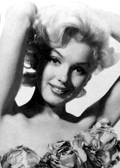 "missingmarilyn: "" Marilyn Monroe in a promotional photo for Gentlemen Prefer Blondes, 1952. """