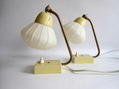 Vintage Tischlampen - 2 Stylische - Tischlampen 50er Jahre - ein Designerstück von MaDuett bei DaWanda