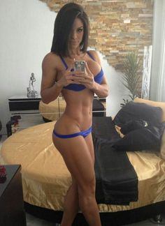 Tall and skinny nude women