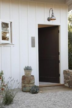 pea gravel & house colors