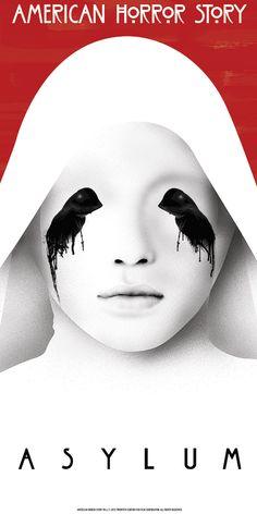 "American Horror Story - Asylum - Benedict Woodhead - ''All Monsters Are Human'' ---- ""American Horror Story"" art show at Hero Complex Gallery (2015-10) #AHS"