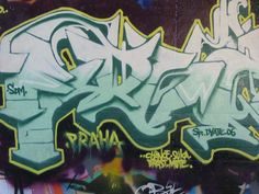 Learn to tag my name in graffiti (April 2013- thanks Kenji Stoll and Fab-5 for the graffiti lessons!)