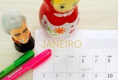 Grátis para baixar: calendário especial para planejar 2015 | Blog do Elo7