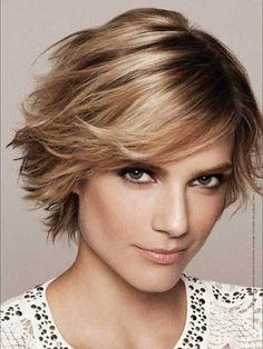 21 #coiffures douces pour le #visage en #forme de coeur...