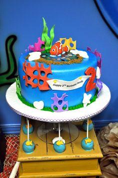 Great Finding Nemo cake #cake #findingnemo