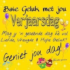 Birthday Qoutes, Funny Happy Birthday Meme, Birthday Wishes For Brother, Happy Birthday Messages, Happy Birthday Images, Birthday Cards, Animated Birthday Greetings, Sexy Love Quotes, Afrikaanse Quotes