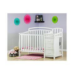Dream On Me Casco 4-in-1 Convertible Mini Crib Set (comes in cherry  $249 Kohls )