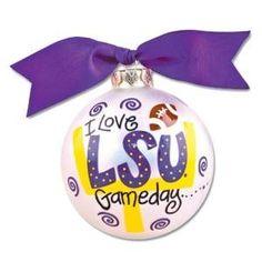 LSU Gameday Ornament