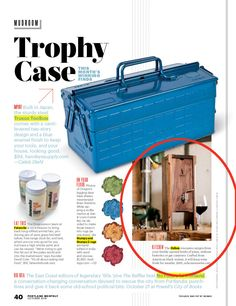 """Portland Monthly calls Oxbox wine preservation system a """"winning find."""""""