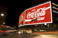 The iconic Coke sign at Kings Cross, Sydney. Travis Drever Lonely Planet Photographer