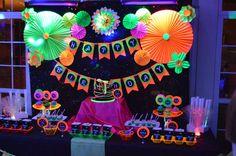 Glow Party Birthday Party Ideas