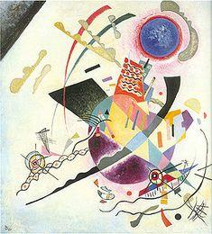 Wassily Kandinsky - Cercle bleu, 1922.  ◉  [New York, The Guggenheim Museum]