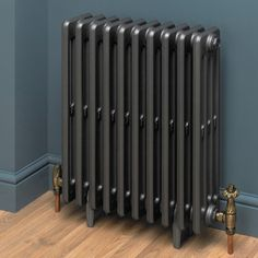 This high quality Cast Iron radiator will complement most styles of decor. Traditional in design, and would really look the part with matching traditional valves, making for a delightful radiator. Electric Radiators, Cast Iron Radiators, Modern Interior, Home Interior Design, Decorative Radiators, Bathroom Radiators, Column Radiators, Designer Radiator, Victorian Design