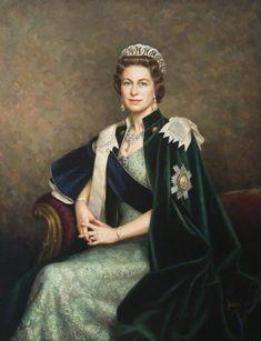 HM Queen Elizabeth II (b.1926) by Leonard Boden