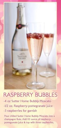 Raspberry bubbles