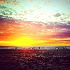 Sunset @ Hoek van Holland